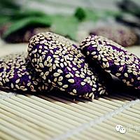 紫薯芝麻小饼 | 软糯清甜,无论大人还是孩子都适合!的做法图解12