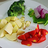 营养快手菜--咖喱鸡肉饭的做法图解2