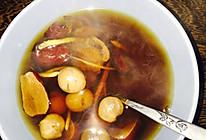 红枣桂圆姜丝茶的做法