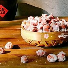 香脆可口的糖霜花生米