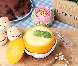 美味的甜橙蒸蛋的做法