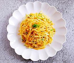 #美食视频挑战赛# #快手炝拌土豆丝黄瓜丝#的做法