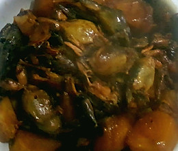 雪蛤烧土豆的做法