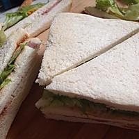 快手早餐三明治的做法图解7