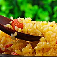 『家夏』早餐快手饭  黄金炒饭(剩大米的美味做法)的做法图解8