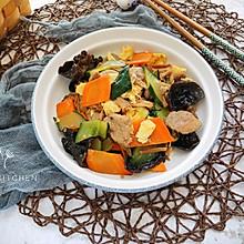 家常下饭菜:木须肉