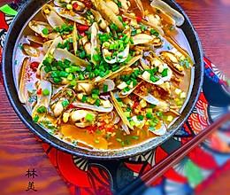 蒜蓉剁椒蛏子的做法