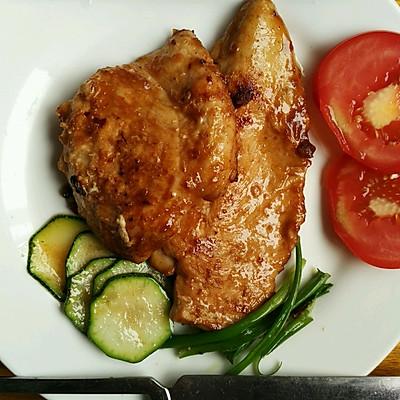 鸡胸排 浪漫的家庭西餐
