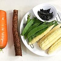 玉米笋炒时蔬的做法图解1