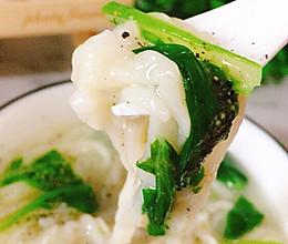 小白菜手擀面的做法