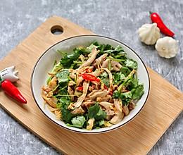 #美食视频挑战赛# 超下饭凉拌香辣鸡丝的做法