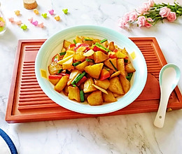 红烧土豆#就是红烧吃不腻!#的做法