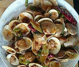 川香文蛤的做法