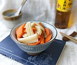 糖醋胡萝卜炒莲藕#金龙鱼外婆乡小榨菜籽油 外婆的食光机#的做法