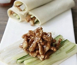 京酱肉丝卷的做法