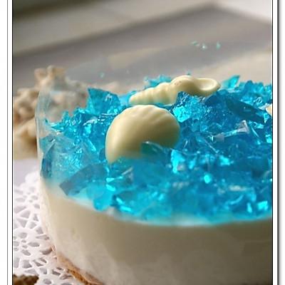 酸奶慕斯蛋糕——自己的海洋
