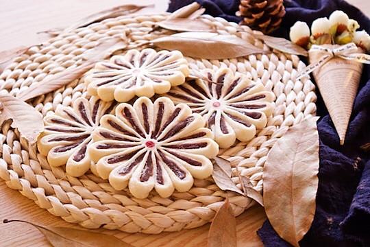 雏菊酥~小小菊花酥的做法