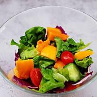 #精品菜谱挑战赛#蒜香沙拉时蔬水果的做法图解8
