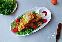 虾仁沙拉吐司蛋的做法
