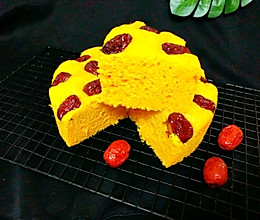 南瓜系列㈠南瓜红枣发糕的做法