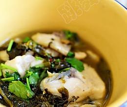 【酸菜鱼片】吃饱水的鱼片更嫩滑的做法