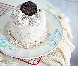 奥利奥咸奶油蛋糕#美的烤箱菜谱#的做法