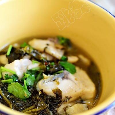 【酸菜鱼片】吃饱水的鱼片更嫩滑