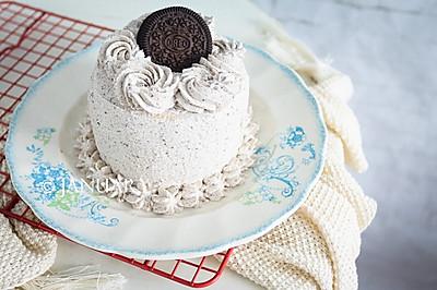 奥利奥咸奶油蛋糕#美的烤箱菜谱#