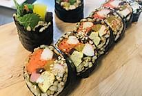 教你做杂粮紫菜包饭(卷寿司)的做法