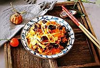 番茄木耳烩金针菇的做法
