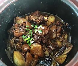 砂锅羊肉煲的做法