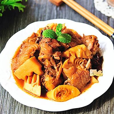 教你焖出营养美味的鸡块——鲜上加鲜春笋尖尖焖土鸡