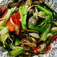 丝瓜焗花蛤#父亲节,给老爸做道菜#的做法图解10