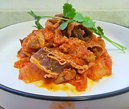 辣白菜肥牛卷的做法