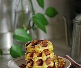 可甜可咸的低脂美味华夫饼的做法