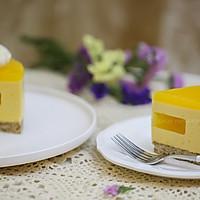 百香果南瓜慕斯生日蛋糕(百香果果冻夹层)的做法图解23