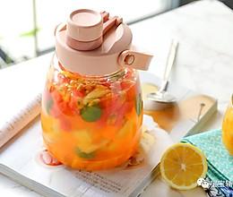 凉泡水果茶【宝宝辅食】的做法