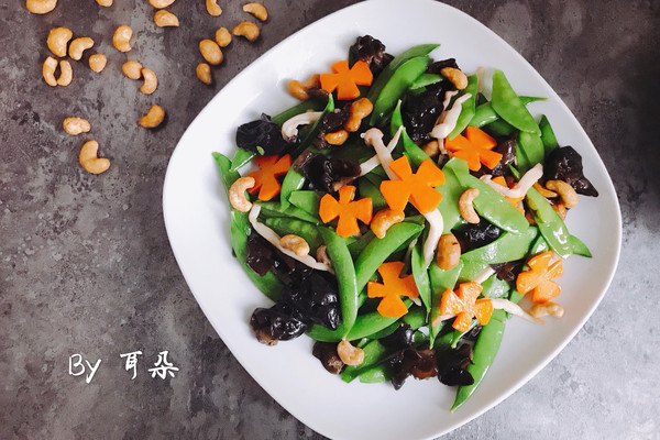 营养丰富的中华全素-素菜也可以做的高大上 简单快手家宴菜的做法