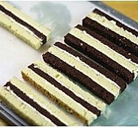 双色棋格奶油蛋糕的做法图解18