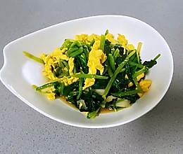 【孕妇食谱】菠菜炒鸡蛋,多做一步,鸡蛋滑嫩,菠菜翠绿不涩口的做法