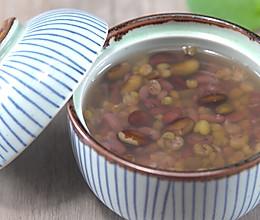 三伏天喝快煮三豆汤,祛湿解暑的做法