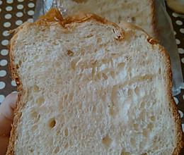 #米西的面包机#-黄油面包的做法