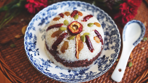 甜糯米八宝饭的做法