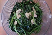 蚝油油麦菜的做法