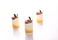 三色椰芒杯子慕斯的做法