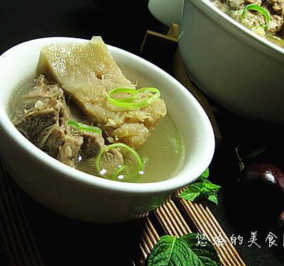 榴莲排骨汤--冬季暖身
