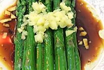 油淋芦笋的做法
