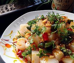 素食之——酸辣米豆腐的做法