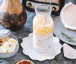 椰奶椰子膏的做法