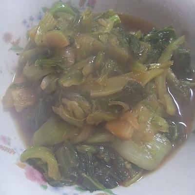 烤菜(烤青菜)